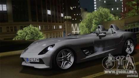 Mercedes-Benz SLR Stirling Moss 2005 pour GTA San Andreas laissé vue