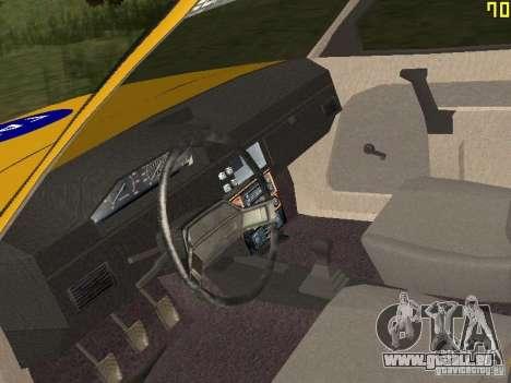 2141 AZLK GAI pour GTA San Andreas vue arrière