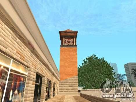 Nouveau centre commercial de textures pour GTA San Andreas quatrième écran