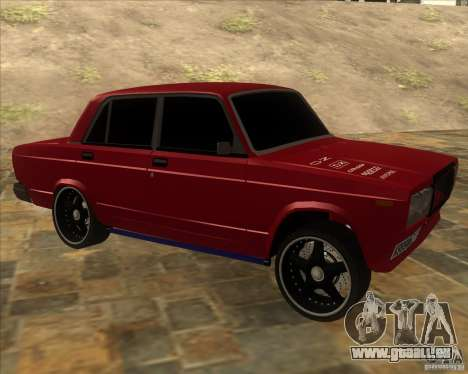VAZ 2107 schwer tuning für GTA San Andreas