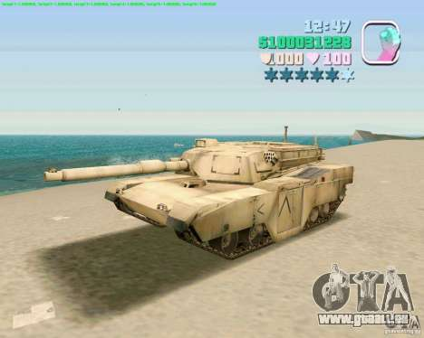 M 1 A2 Abrams für GTA Vice City zweiten Screenshot