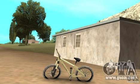 Specialized P.3 Mountain Bike v 0.8 für GTA San Andreas linke Ansicht