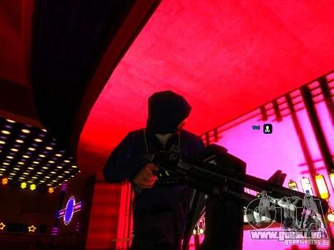 New Weapons pour GTA San Andreas quatrième écran