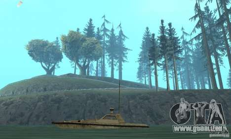 GTA III Ghost pour GTA San Andreas sur la vue arrière gauche