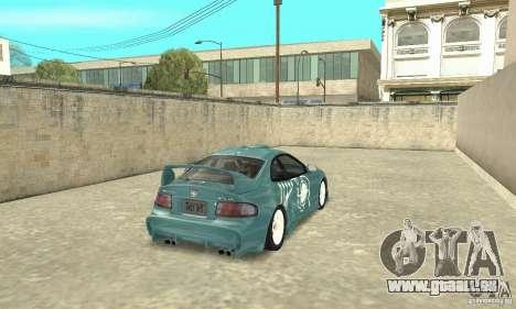 Toyota Celica GT-Four v1.1  1994 für GTA San Andreas Unteransicht