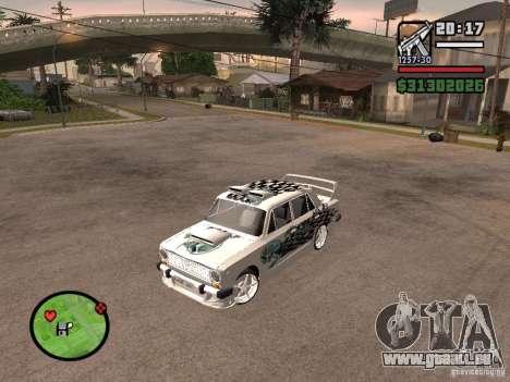 Tuning de voiture Vaz 2101 pour GTA San Andreas