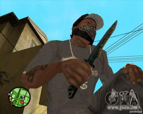 Messer aus Counter strike für GTA San Andreas