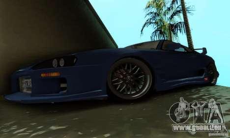 Toyota Supra TRD pour GTA San Andreas vue intérieure