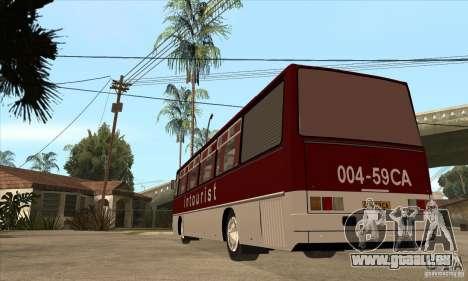 IKARUS 250.14 pour GTA San Andreas sur la vue arrière gauche