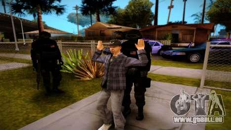 S.W.A.T. pour GTA San Andreas quatrième écran