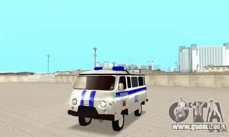 UAZ Police pour GTA San Andreas laissé vue