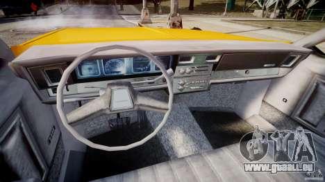 Chevrolet Impala Taxi v2.0 pour GTA 4 Vue arrière