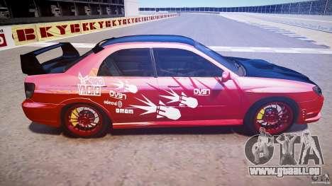 Subaru Impreza WRX STI pour GTA 4 est un côté