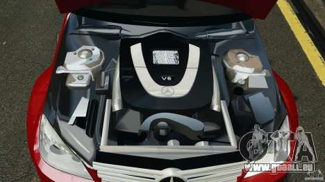 Mercedes-Benz C350 Avantgarde v2.0 für GTA 4 obere Ansicht