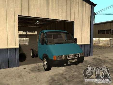 GAZ 33021 für GTA San Andreas