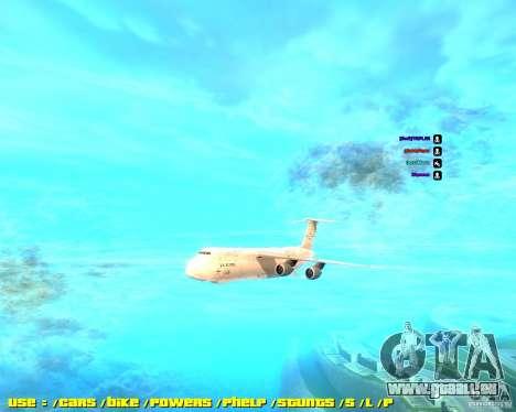 Lockheed C5-M Super Galaxy pour GTA San Andreas