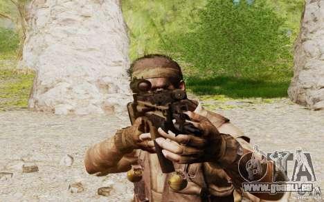 FN Scar L pour GTA San Andreas quatrième écran