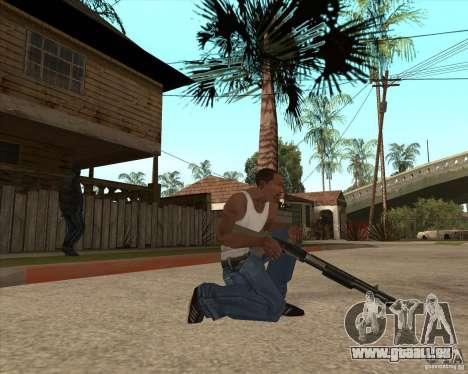 CoD:MW2 weapon pack pour GTA San Andreas deuxième écran