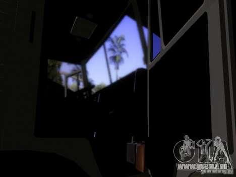 KAMAZ 53212 Milch tanker für GTA San Andreas Innenansicht