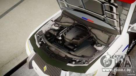 Carbon Motors E7 Concept Interceptor Sherif ELS pour GTA 4 vue de dessus