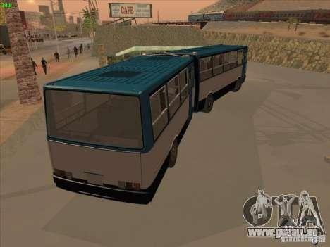 Remorque pour Ikarus 280.03 pour GTA San Andreas laissé vue