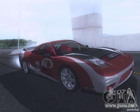 Honda NSX Japan Drift für GTA San Andreas Innen
