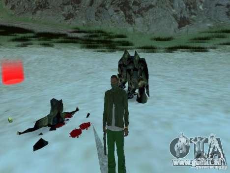 Unterwasser Monster für GTA San Andreas siebten Screenshot