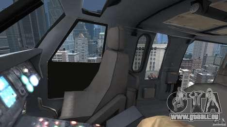 Sikorsky UH-60 Black Hawk für GTA 4 Seitenansicht