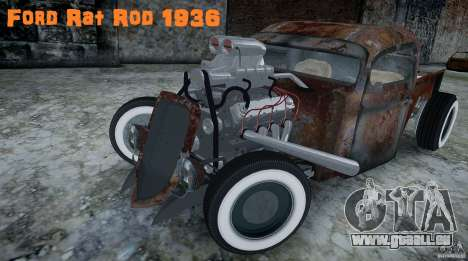 Ford RatRoad 1936 pour GTA 4