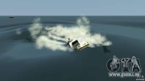 Airtug boat für GTA 4 obere Ansicht