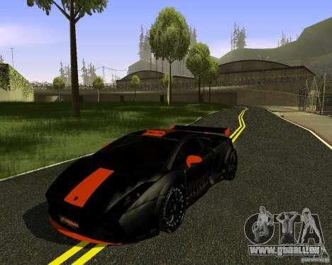 LAMBORGHINI HAMANN VICTORY DESIGN pour GTA San Andreas sur la vue arrière gauche