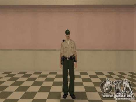 Los Angeles Police Department pour GTA San Andreas cinquième écran