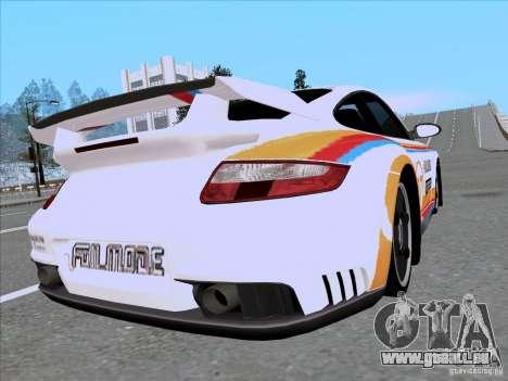 Porsche 997 GT2 Fullmode pour GTA San Andreas laissé vue