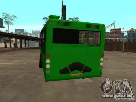 Trailer für Liaz 6213.20 für GTA San Andreas rechten Ansicht