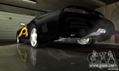 Toyota Supra Tuneable pour GTA San Andreas vue de dessus