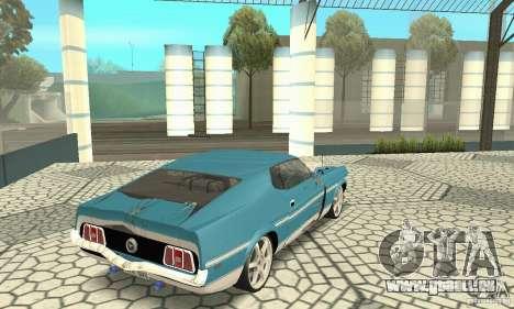 Ford Mustang Mach 1 1971 für GTA San Andreas Seitenansicht