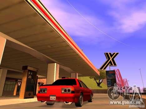Previon GT pour GTA San Andreas laissé vue