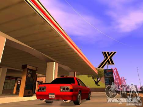 Previon GT für GTA San Andreas linke Ansicht