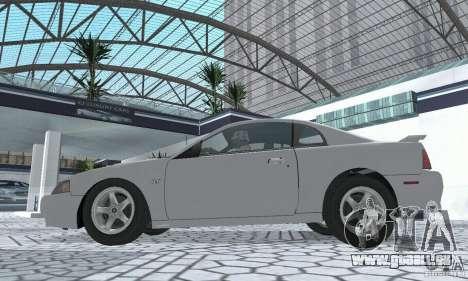 Ford Mustang GT 2003 pour GTA San Andreas vue de droite