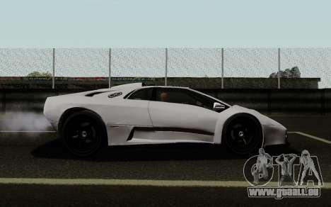 Lamborghini Diablo GTR TT Black Revel pour GTA San Andreas laissé vue