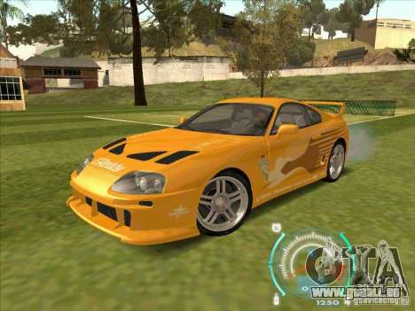 Toyota Supra from 2 Fast 2 Furious für GTA San Andreas