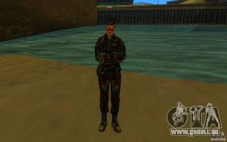 HQ skin Army pour GTA San Andreas quatrième écran