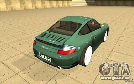 Porsche 911 Turbo für GTA San Andreas Seitenansicht