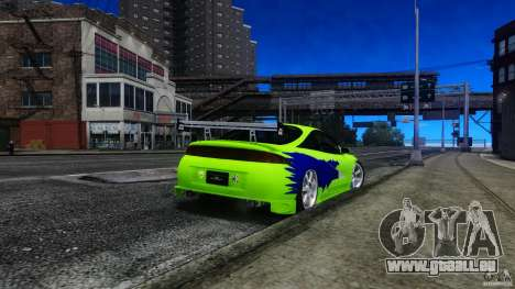 Mitsubishi Eclipse GSX FnF für GTA 4 linke Ansicht