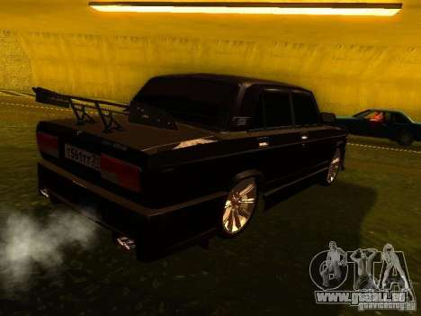 VAZ 2107 X-Style pour GTA San Andreas vue de droite