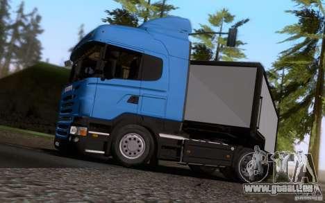 Scania R500 pour GTA San Andreas vue arrière