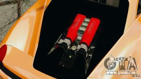 Ferrari 458 Italia 2010 v3.0 pour GTA 4 Vue arrière