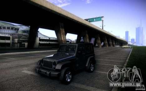 Jeep Wrangler Rubicon 2012 für GTA San Andreas Seitenansicht