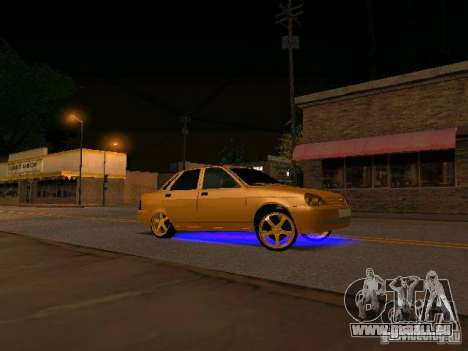 LADA 2170 Priora Gold Edition pour GTA San Andreas