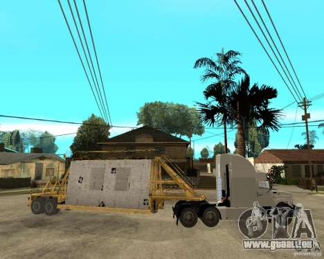 Patch remorque v_1 pour GTA San Andreas vue intérieure